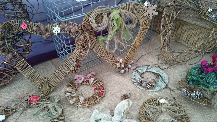 Willow wreaths, gifts & upcycled products by Purple Sue
